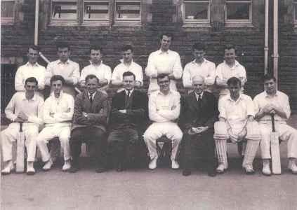 1961-team-Cricket-1st-XV