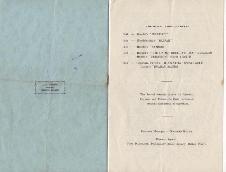 School-Concert-8-May-1948-8