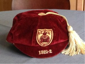 Swansea Schoolboys Football Cap 1921-22