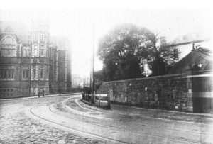 Dynevor School seen from Grove Place, 1920's