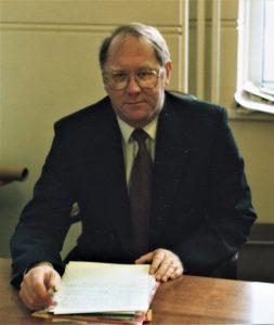 Allan Smith Headteacher, 1986-2001